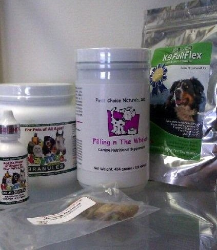 Kit #43 - CORE 4 (Fillin N Wholes) & Puppy or Adult w/ Immune & Joint Support