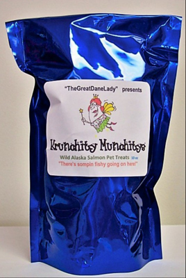 Krunchity Munchity Salmon Pet Treats  Currently out of stock